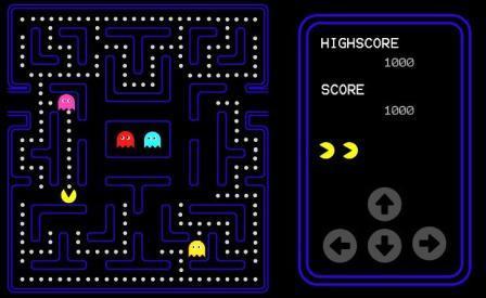 Gog Games Google Games Pacman Sudoku Space Invaders